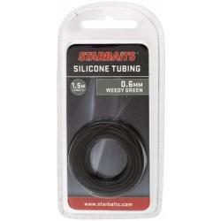 SILICONE TUBING 0,6mm RURKA ZIELONA 1,5m