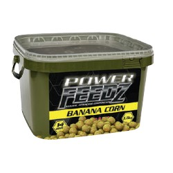 Kulki POWER FEEDZ BANANA CORN 14mm 1,8kg