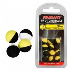 Two Tones Balls 10mm black&white